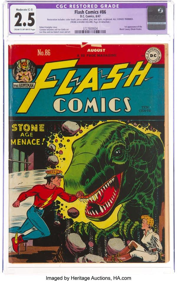 Flash Comics #86 (DC, 1947).