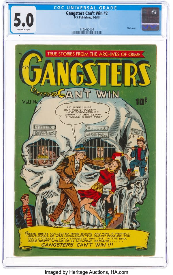 Gangsters Can't Win #2 (D.S. Publishing, 1948) with Eddie Bentz.