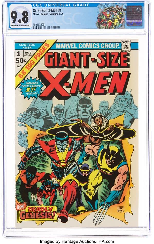 Giant-Size X-Men #1 CGC 9.8