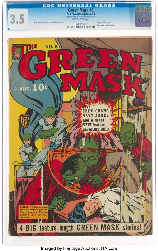 Green Mask #6 (Fox Features Syndicate, 1941)
