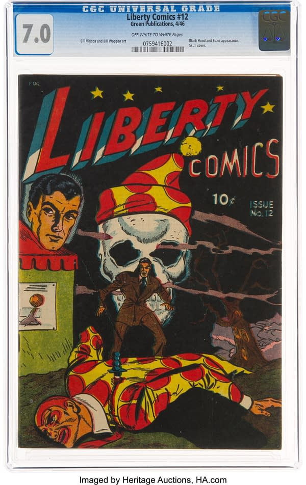 Liberty Comics #12 (Green Publishing Co., 1946)
