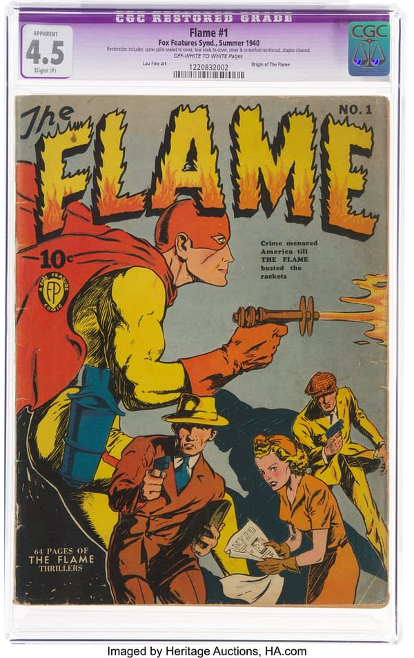 The Flame #1 (Fox, 1940)