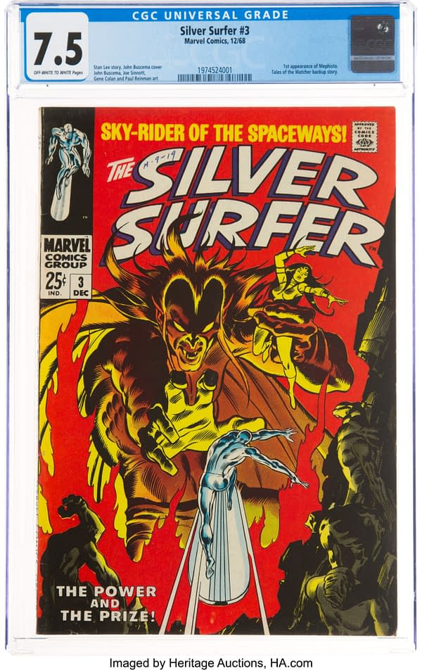 Mephisto Fans: Grab His First Appearance On Auction Today