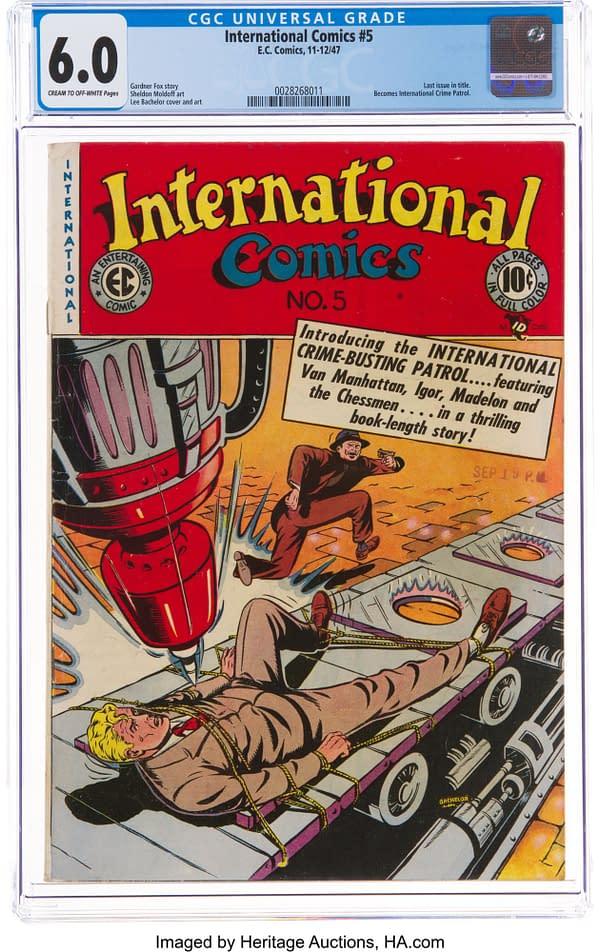 International Comics #5 (EC, 1947)