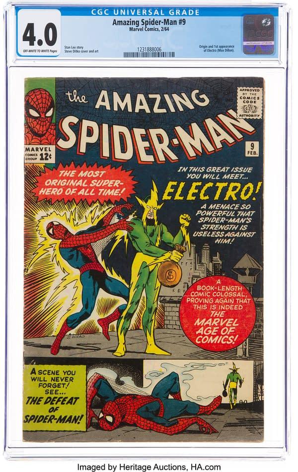 Incroyable Spider-Man # 9, Marvel 1964.