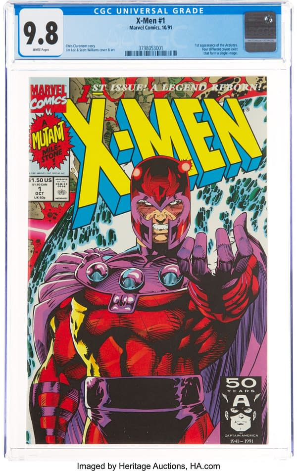 Marvel Printed 8 Million But Jim Lee's X-Men #1 Sells For A Premium