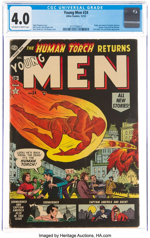Young Men #24 (Atlas, 1953)