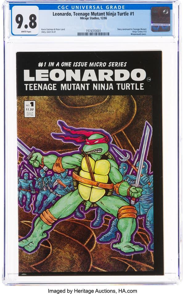 Leonardo TMNT #1 From Mirage Studios At Heritage Auctions