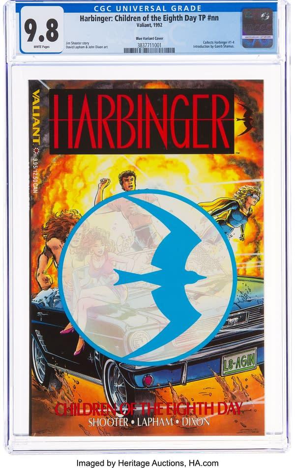 Harbinger: Children of the Eighth Day, (Valiant, 1992).