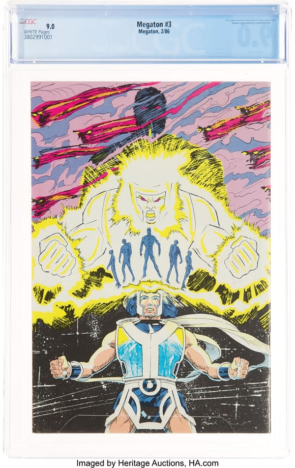 Megaton 3, First Savage Dragon On Cover, Up For Auction