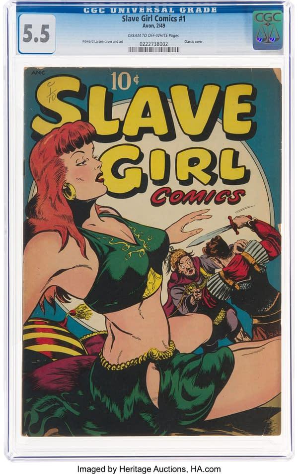 Slave Girl #1 (Avon, 1949) featuring Garth and Malu.