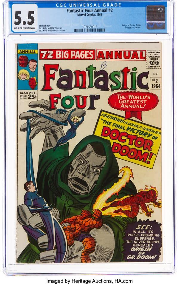 Fantastic Four Annual #2.