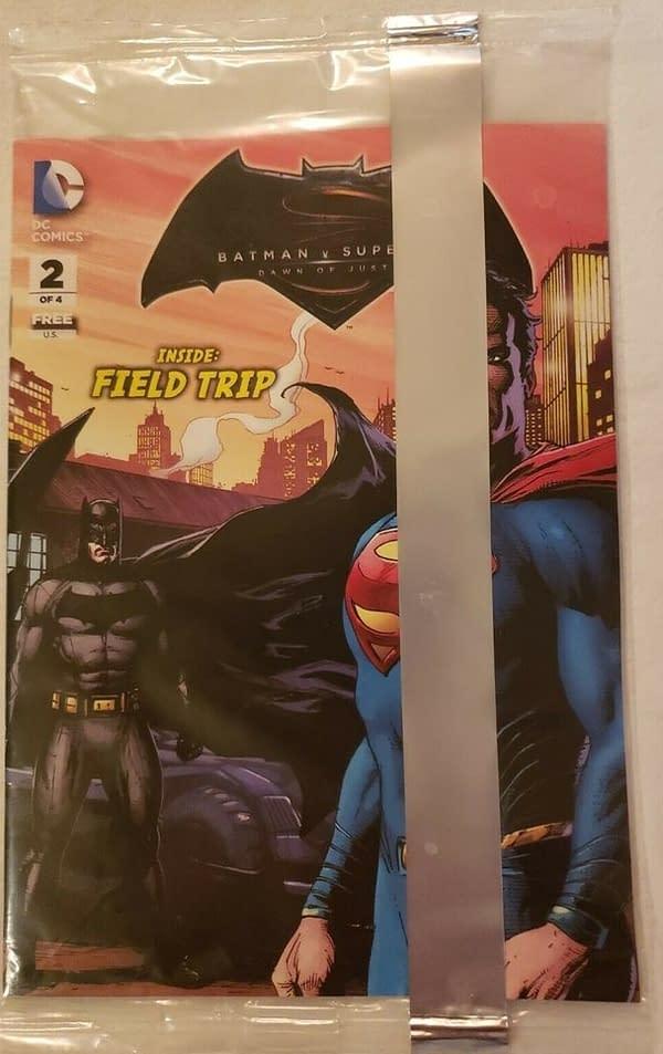 Batman V Superman #2 Sealed