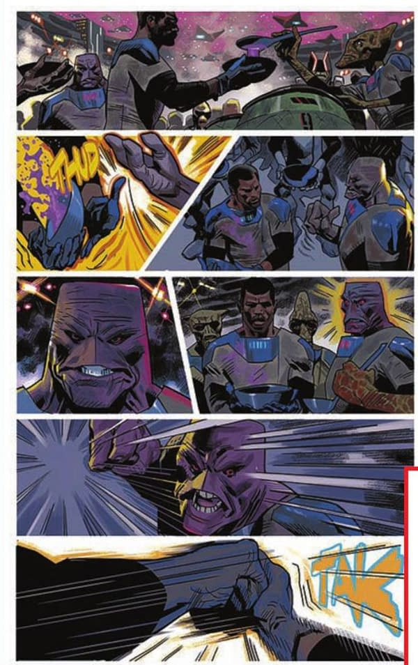 Sneak Peek: Black Panther #1 by Ta-Nehisi Coates and Daniel Acuna