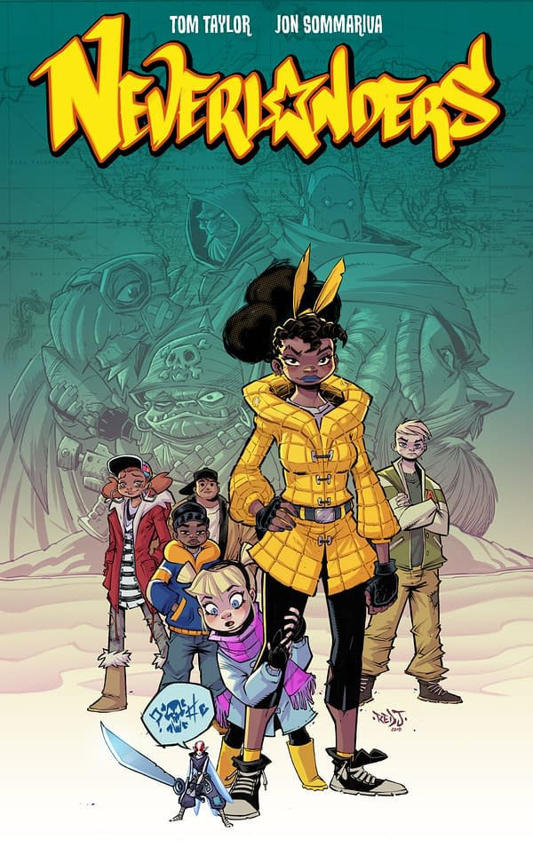 Tom Taylor Sells Two Graphic Novels, The Neverlanders, at Auction