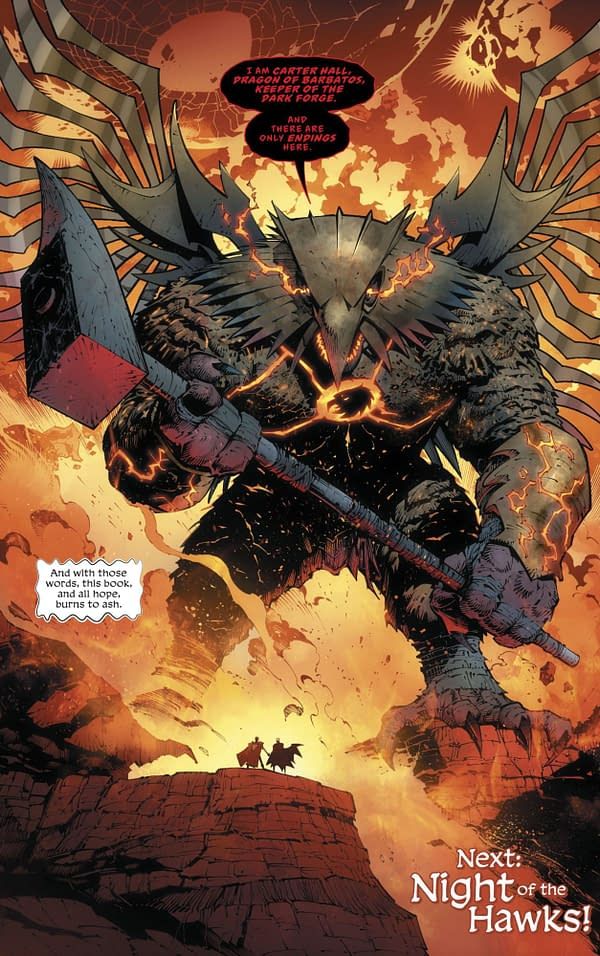 Hawkman to Get a Monthly Series from DC Comics Now?