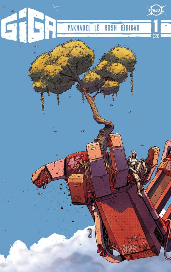 Giga #1 cover. Credit: Vault Comics