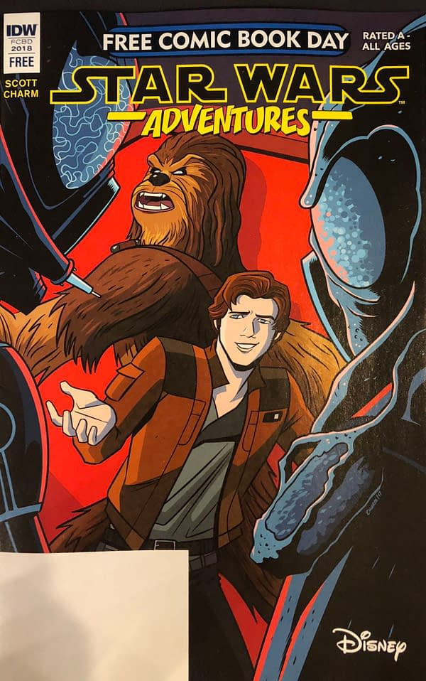 Free Comic Book Day Star Wars Adventures Will be a Young Han Solo Comic (SPOILERS)
