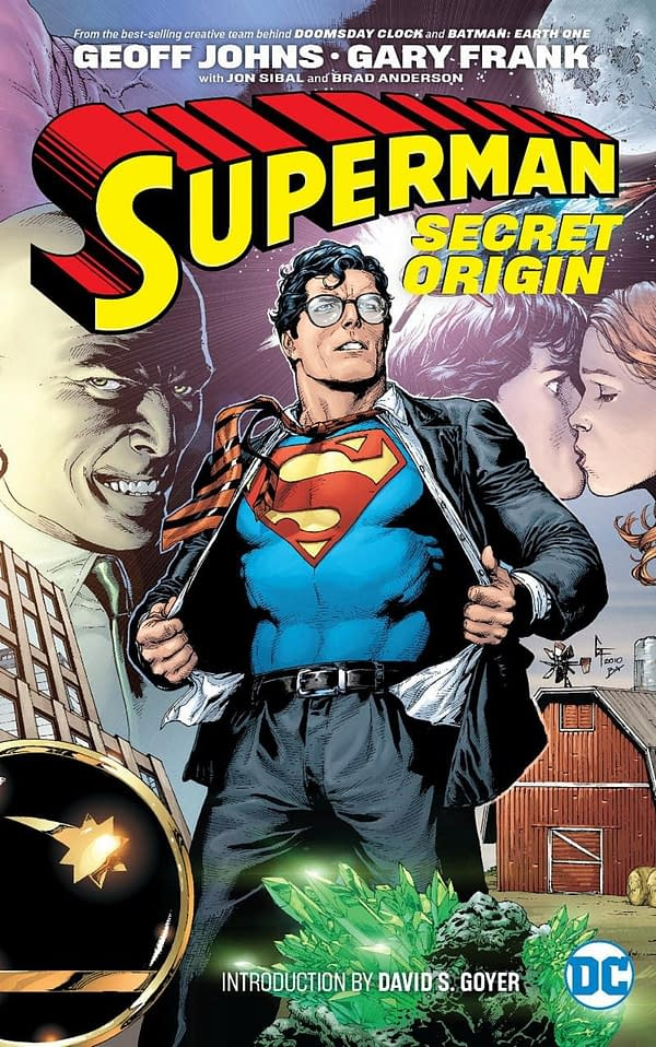 DC Comics Rushes Out Geoff Johns and Gary Frank Superman Collections