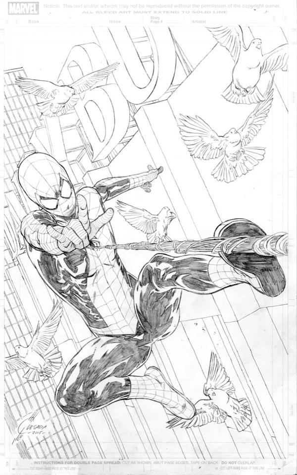 Joe Quesada Swings By For Amazing Spider-Man #24