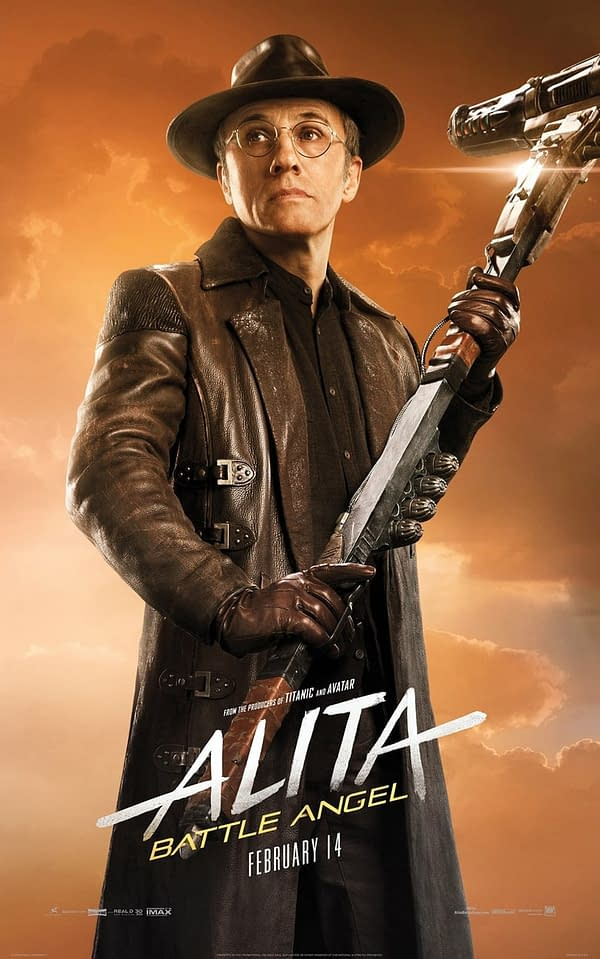 10 Character Posters from 'Alita: Battle Angel' [with Killer Robots]