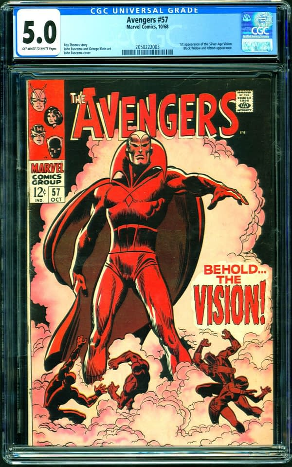 A Very Affordable Copy Of Avengers #57 Is On Comic Connect Right Now