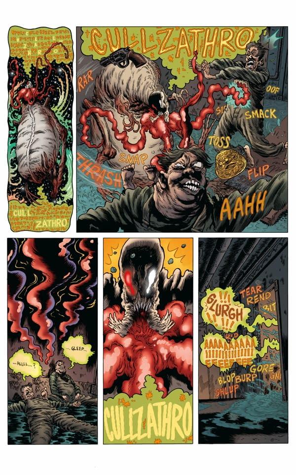 Exclusive Preview of Dark Horse's Vinegar Teeth #3