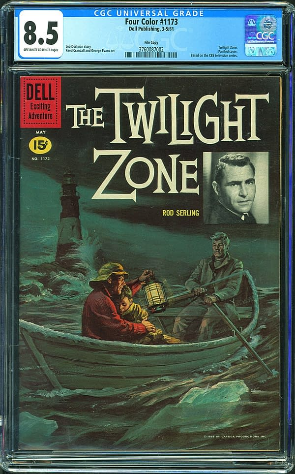 The First Twilight Zone Comic Is On Auction At ComicConnect