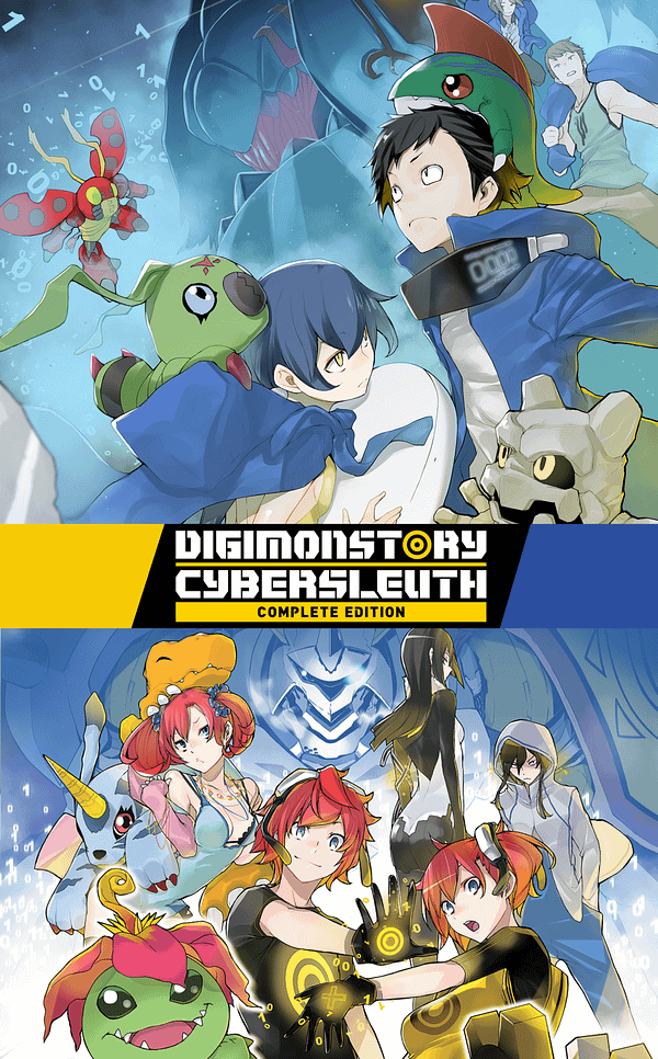 "Bandai Namco Announces ""Digimon Story Cyber Sleuth: Complete Edition"""