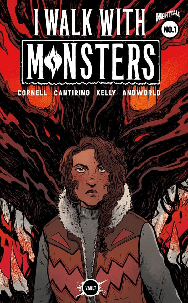 I Walk With Monsters #1 cover. Credit: Vault Comics