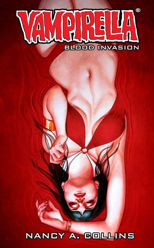 Nancy A Collins Writes Vampirella Novel For New Prose Line, Dynamite Books, Edited by Dan Wickline