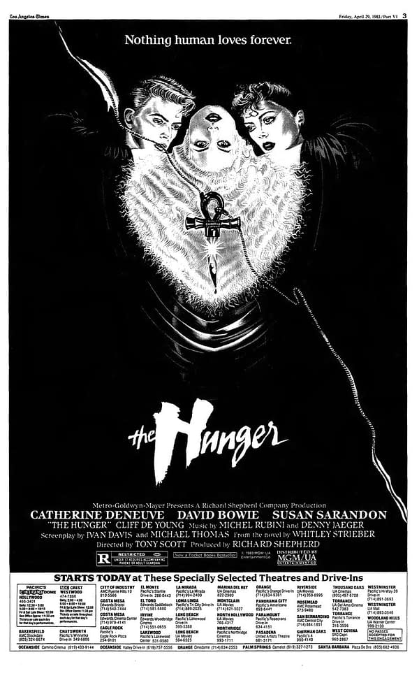 """Let's Talk About """"The Hunger"""" On it's 35th Anniversary"""