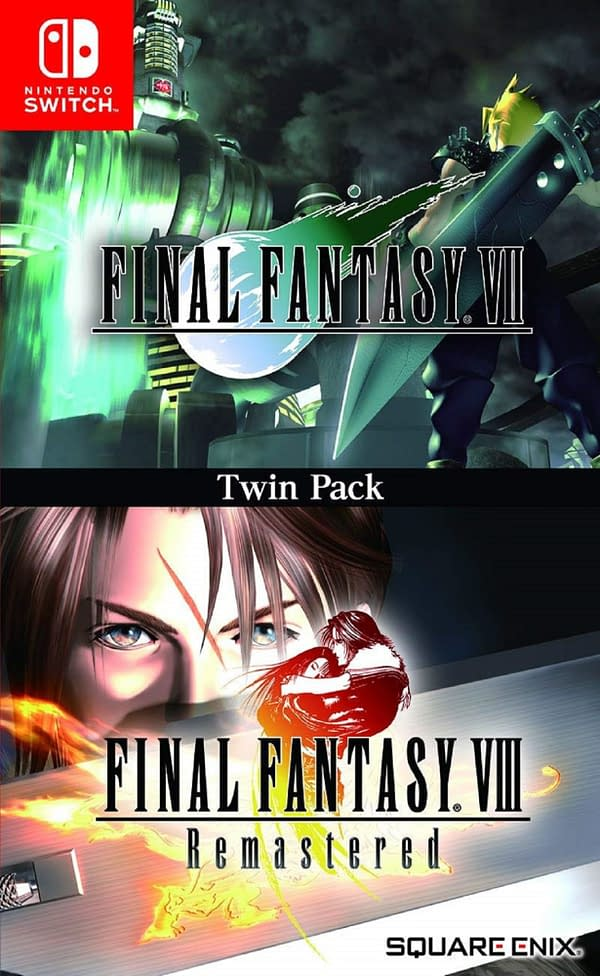 A look at the art for the Twin Pack, courtesy of Square Enix.