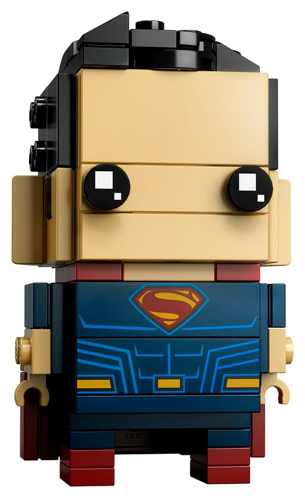 Batman and Superman Get Justice League LEGO Brickheadz