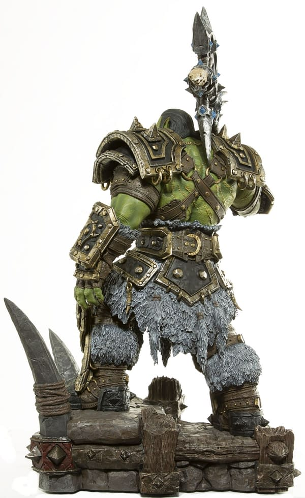 World of Warcraft Warchief Thrall Gets His Own Statue from Blizzard