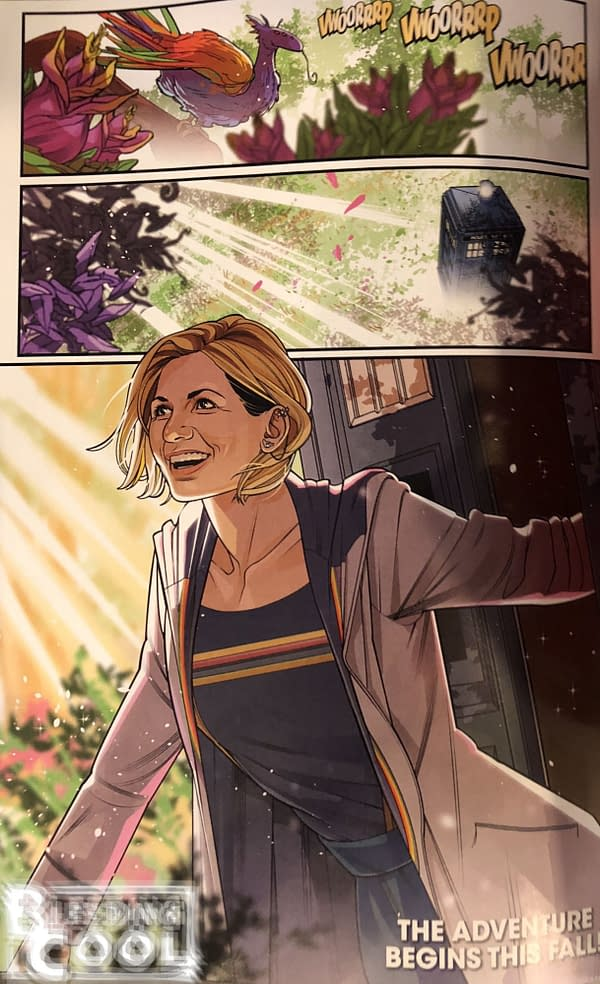 See The Thirteenth Doctor Make Her Comic Book Debut for FCBD 2018 (SPOILERS)