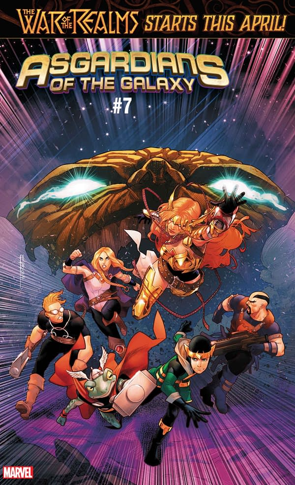 Road to War of the Realms Leads Through Avengers, Thor, and Asgardians of the Galaxy in March