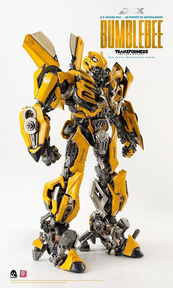 Transformers: The Last Knight Bumblebee Arrives from Hasbro/threezero