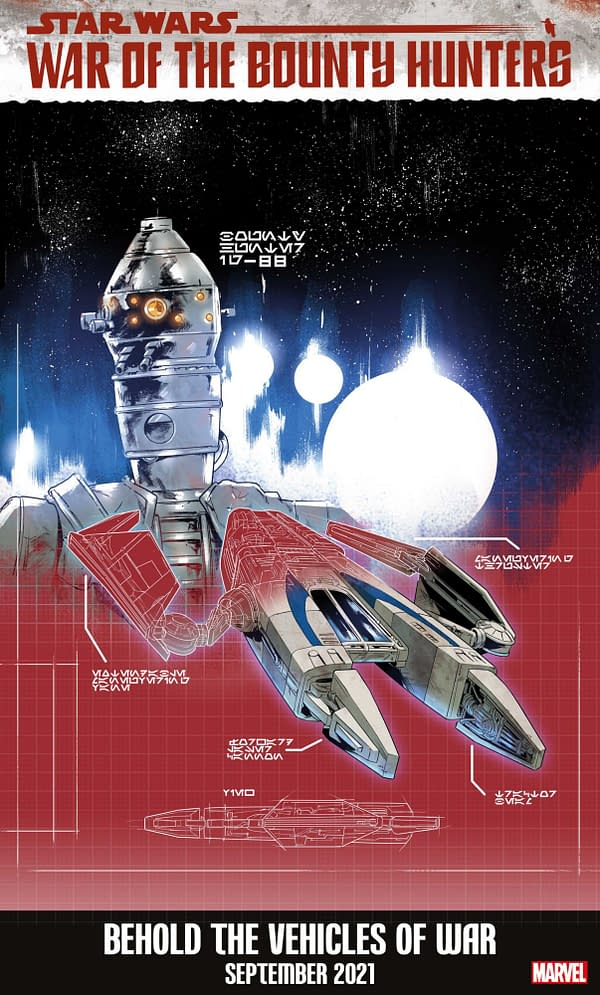 Star Wars Gets Bounty Hunter Ship Variant Covers By Paolo Villanelli