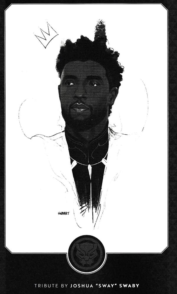 Ta Nehisi-Coates Tribute to Chadwick Boseman in Marvel Comics Today