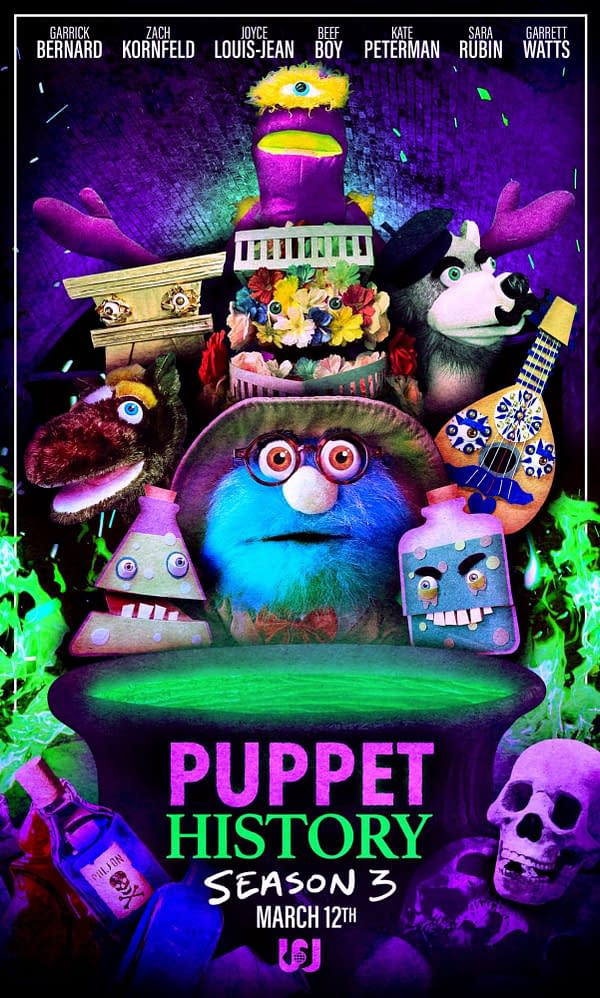 The Poster For Puppet History's Season 3 Premiere Is Oddly Fantastic