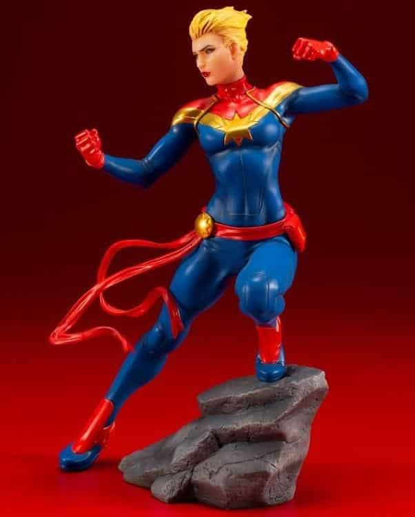 Captain Marvel Kotobukiya Statue 4
