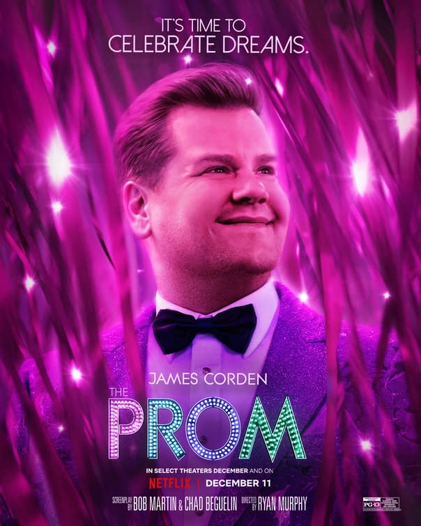 Nine New Posters For Ryan Murphy's Netflix Film The Prom