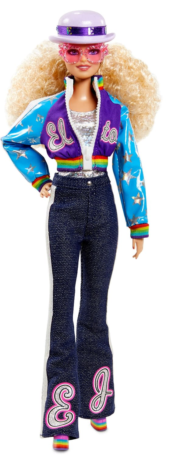 Elton John and Mattel Unite for New Limited Edition Barbie