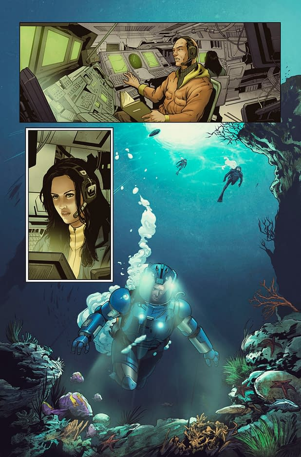 Exclusive Preview: Image Comics' The Vault #1 by Sam Sarkar and Garie Gastonny