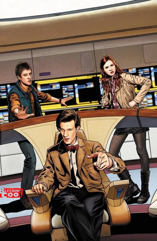 SCOOP: Doctor Who/Star Trek – The Official Crossover