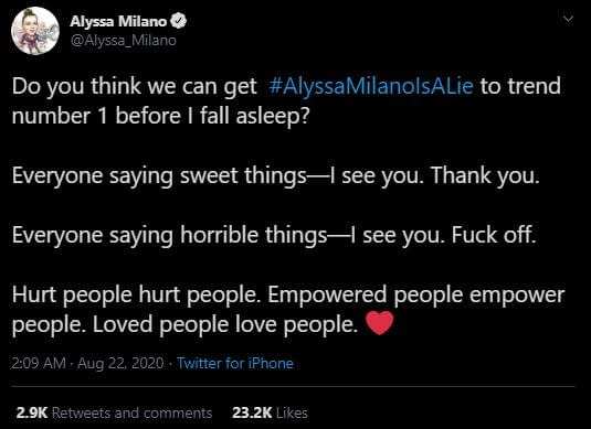 Charmed: Rose McGowan, Alyssa Milano Twitter Fight Gets Personal