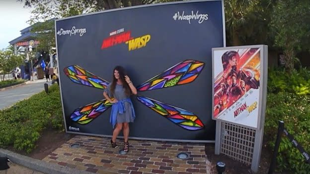 Disney Springs Celebrates Ant-Man and The Wasp This Weekend