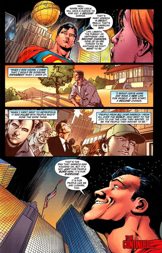 Superman Loves America Again – It's Official