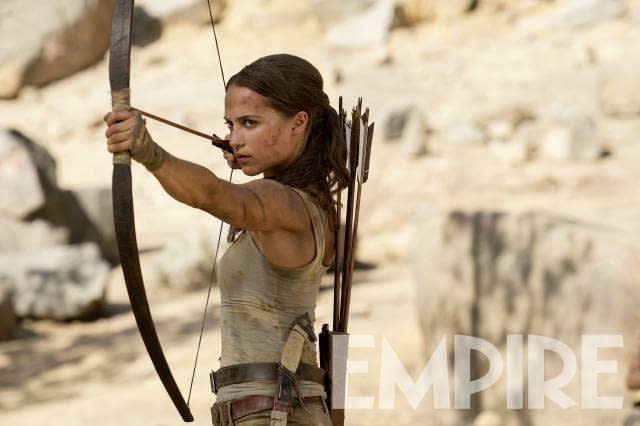 New Image Of Alicia Vikander From The Tomb Raider Reboot